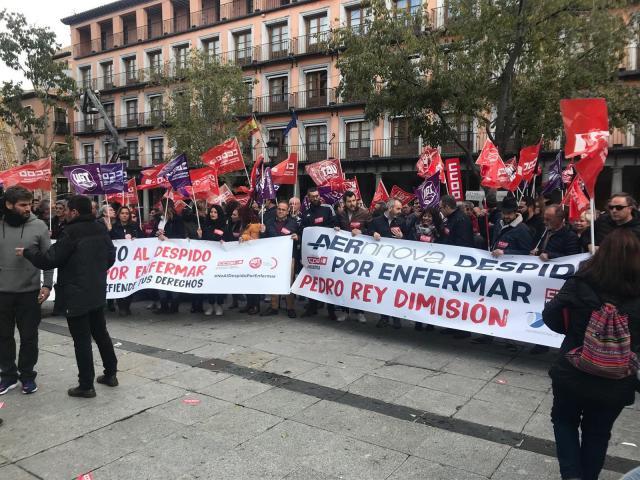 Movilización en Toledo
