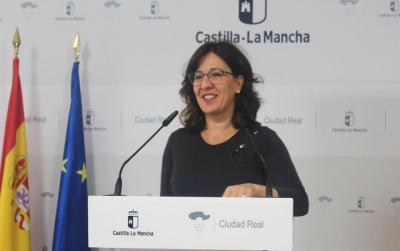 La consejera y portavoz del Ejecutivo regional, Blanca Fernández. - JCCM