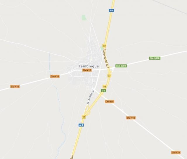 Cortada la A-4 sentido Andalucía por el choque entre dos camiones a la altura de Tembleque