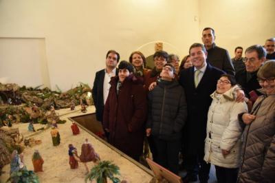 El belén de APANAS ya puede visitarse en el Palacio de Fuensalida