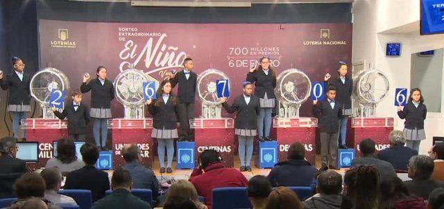 Tercer premio del sorteo del Niño.(Archivo). - EUROPA PRESS