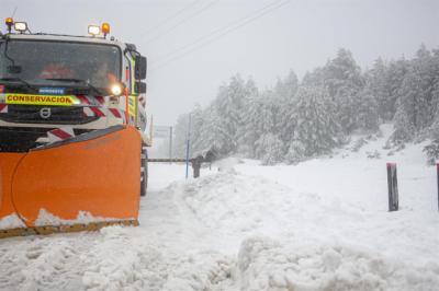 NIEVE Y HIELO | Todo listo para hacer frente al temporal en CLM