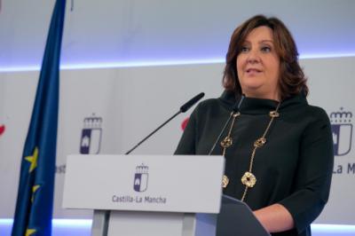 La consejera de Economía, Empresas y Empleo, Patricia Franco. - JCCM