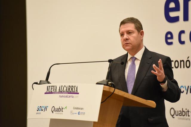El presidente de CLM, García-Page.