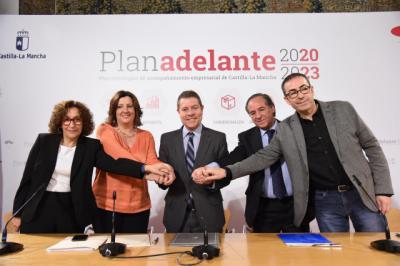 CLM reedita el Plan Adelante: 280 millones de euros para la modernizar y consolidar empresas