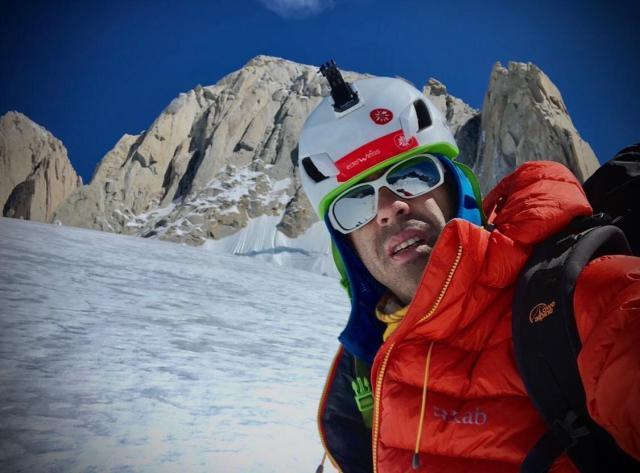 Pedro Cifuentes regresa al Fitz Roy para intentar asaltar de nuevo sus 3.500 metros de hielo, esta vez en solitario
