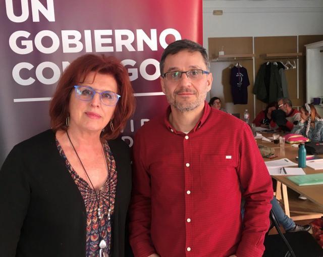 La gestora de Podemos Castilla-La Mancha designa a María Ángeles García coportavoz regional