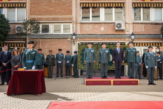El coronel Francisco Javier Vélez toma posesión como jefe de la Comandancia de la Guardia Civil de Toledo. - DELEGACIÓN DEL GOBIERNO