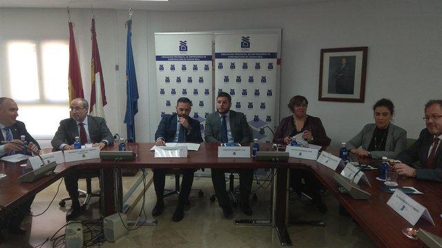 El consejero de Fomento, Nacho Hernando, en Ciudad Real. - EUROPA PRESS