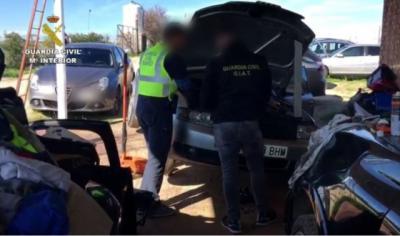 SUCESOS   32 detenidos por robar coches en Madrid y Toledo y venderlos a Centroeuropa