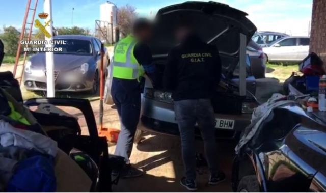 SUCESOS | 32 detenidos por robar coches en Madrid y Toledo y venderlos a Centroeuropa