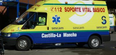 Ambulancia de Soporte Vital Básico. - SESCAM - Archivo