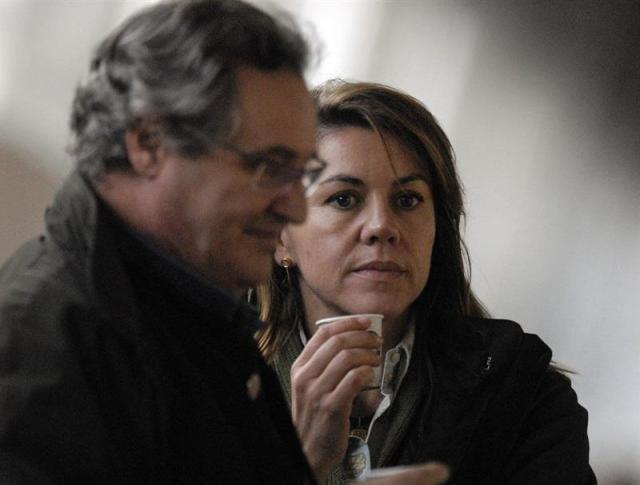 María Dolores De Cospedal Y Su Marido, Ignacio López Del Hierro - EUROPA PRESS - Archivo