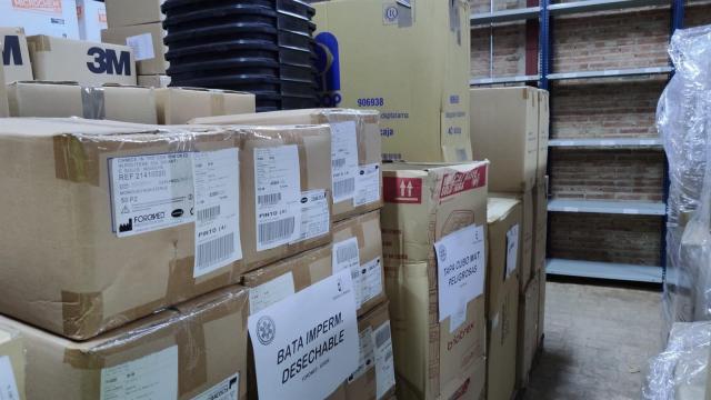 CORONAVIRUS | El transporte sanitario de CLM recibirá 4.150 monos, más de 10.000 mascarillas y 120.000 guantes