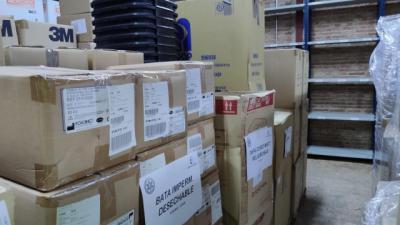 COVID-19 | 1,4 millones más de artículos de protección para CLM y ya van 5 millones