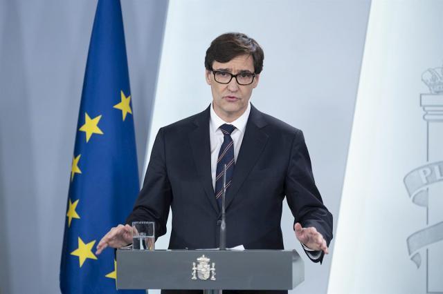 Ministro de Sanidad, Salvador Illa | Europa Press