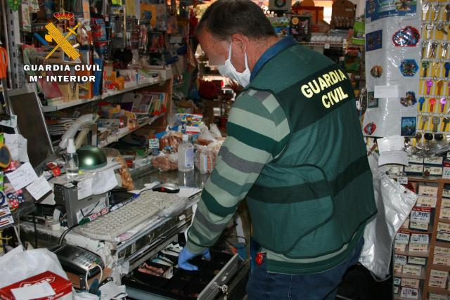 Agente de la Guardia Civil que ha llevado a cabo la operación. - GUARDIA CIVIL