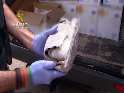 SUCESOS | Se hacía pasar por transportista de patatas... pero le pillan con 800 gramos de cocaína