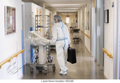 COVID-19   17 nuevos casos confirmados, 444 hospitalizados y 17 fallecidos en Castilla-La Mancha