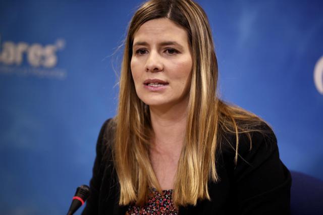 La secretaria general del PP en Castilla-La Mancha, Carolina Agudo | Archivo