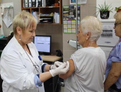 GRIPE   La campaña de vacunación comenzará en octubre