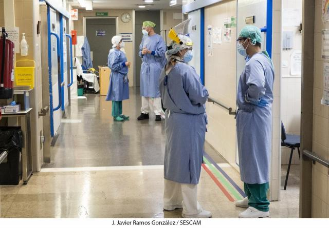 COVID-19 | Continúa disminuyendo el número de hospitalizados en CLM