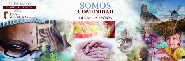 CLM | 'Somos Comunidad', el emotivo vídeo de las Cortes de CLM para conmemorar el Día de la Región