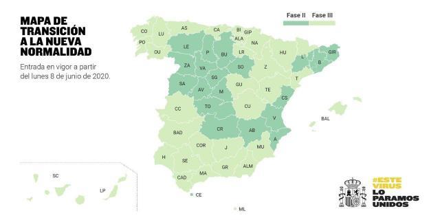 DESESCALADA | Guadalajara y Cuenca, a fase 3 a partir del lunes
