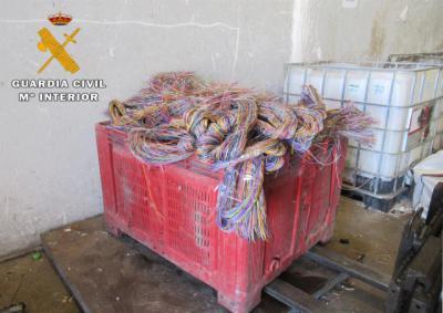SUCESOS | Roban una tonelada de cable de cobre