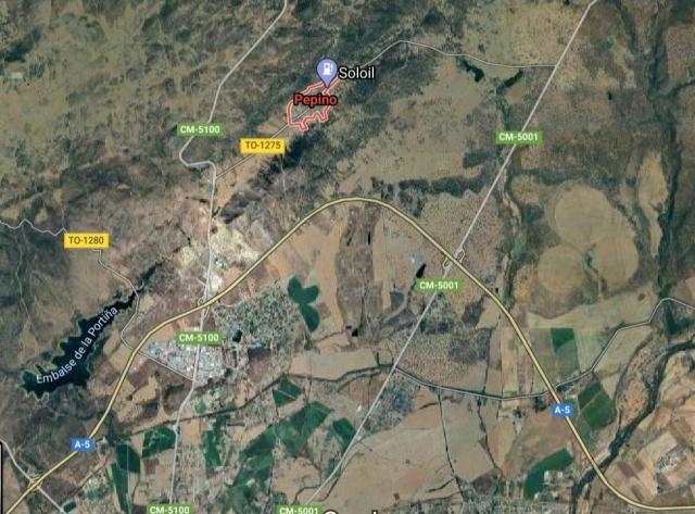 ÚLTIMA HORA | Muere en Pepino tras chocar su furgoneta contra un camión en la A-5