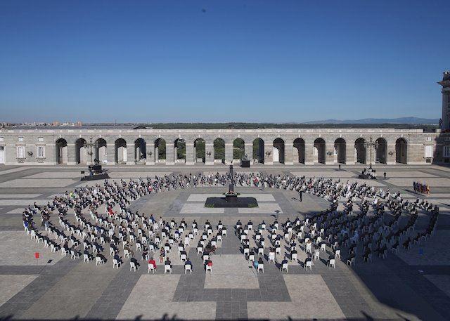 ESPAÑA | Homenaje de Estado en memoria a las víctimas Covid