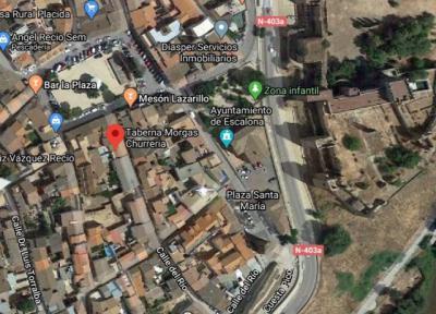 ESCALONA | Cinco afectados en el incendio de una churrería