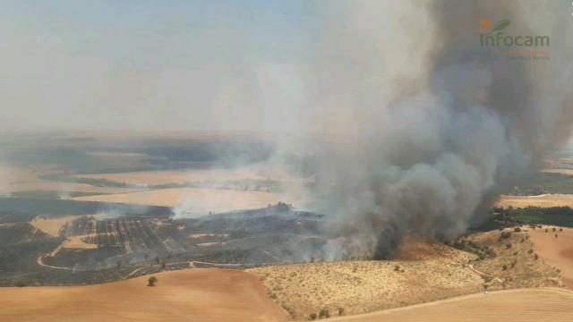 URGENTE | Incendio en Albarreal del Tajo