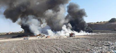 INCENDIO   Extinguido el fuego en el Ecoparque de Toledo