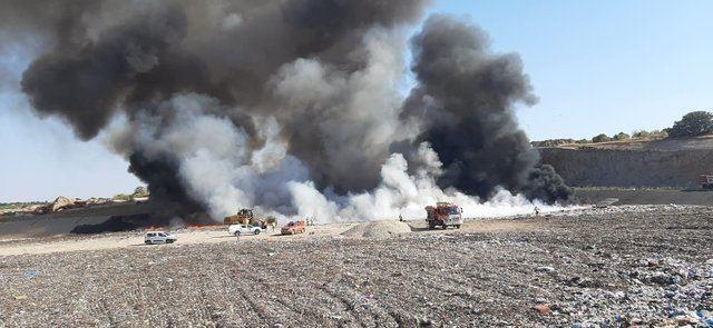 INCENDIO | Extinguido el fuego en el Ecoparque de Toledo
