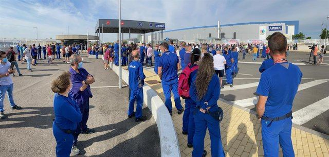 CLM   Las Cortes apoyan por unanimidad la defensa de Airbus y los empleos