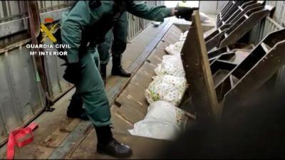 GOLPE AL NARCOTRÁFICO | Hay 62 detenidos: cocaína, marihuana, armas...