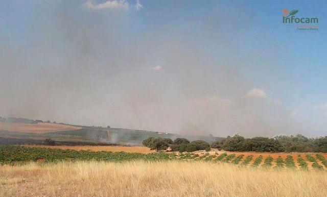 SOCUÉLLAMOS | Extinguido el fuego declarado este domingo