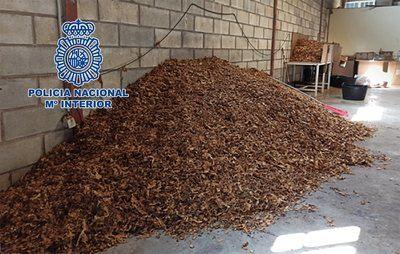 ÚLTIMA HORA | 10 detenidos por vender 54 toneladas de picadura de tabaco