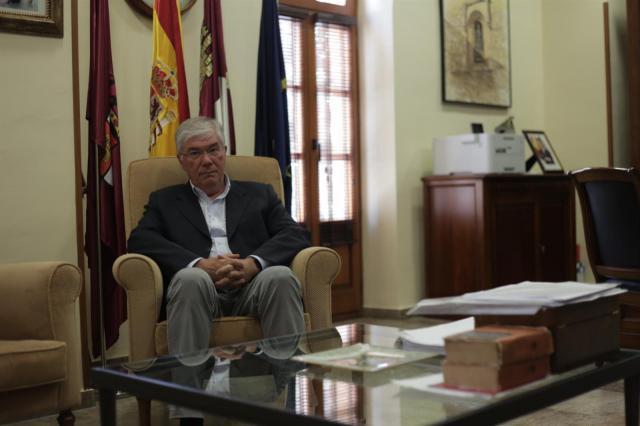 El alcalde de Illecas, José Manuel Tofiño, en entrevista con Europa Press - EUROPA PRESS / MARIO TRIVIÑO