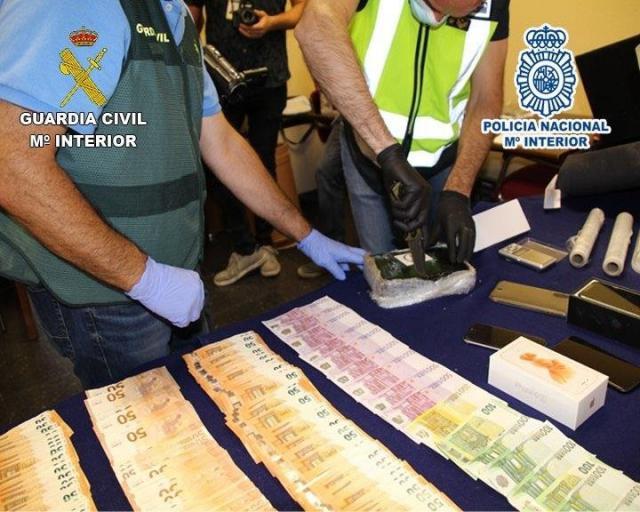 YUNCOS | Desarticulada una organización criminal dedicada al tráfico de cocaína