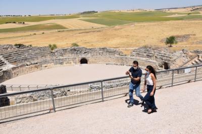 CLM | El parque de Segóbriga ha recibido un 5,6% más de visitantes en agosto que en el mismo mes del año pasado