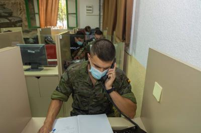 COVID-19   Rastreadores militares para la provincia de Toledo