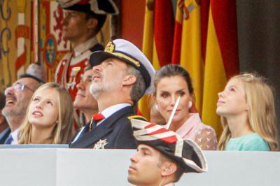 ESPAÑA | Page asiste al acto del 12 de octubre en Madrid presidido por los Reyes