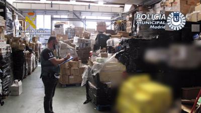 TOLEDO | Desarticulan un grupo criminal que robaba mercancía de camiones en varias provincias