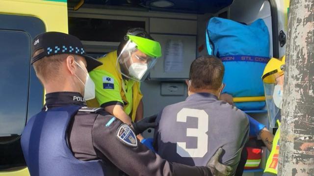 PANDEMIA | La Policía devuelve al hospital a un paciente con Covid-19 que se había escapado