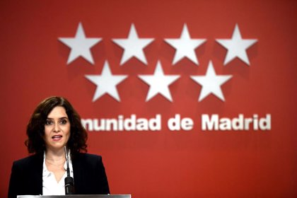 Isabel Díaz Ayuso | Archivo | EUROPA PRESS/O.CAÑAS.POOL - EUROPA PRESS