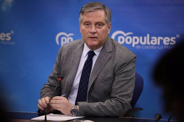 El senador del PP Paco Cañizares. - PP - Archivo