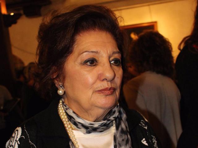 Dolores Abril, en una de sus últimas apariciones públicas, en el año 2015 - EUROPA PRESS - Archivo