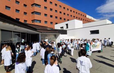 SANIDAD | Un 25% de médicos secundan la huelga, según CESM CLM